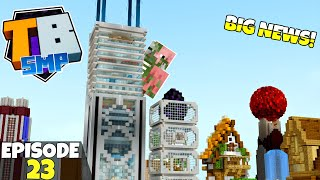 Truly Bedrock S2 Ep23! The RETURN Of The Piggo! BIG NEWS! Bedrock Edition Survival Let's Play!