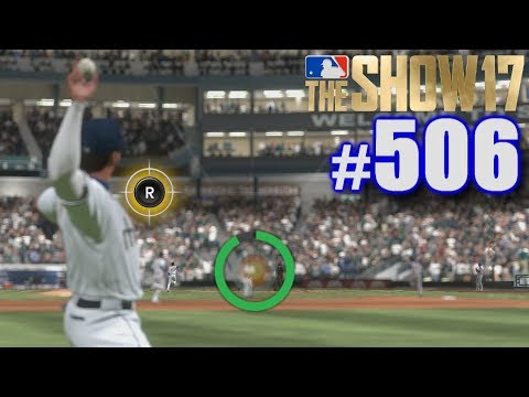 THE GAME GIVES ME A RARE CHANCE! | MLB The Show 17 | Road to the Show #506