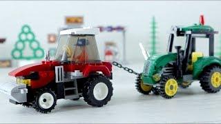 Мультики про машины и трактора. Все серии подряд. Игрушечные машины