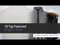 10 Top Featured Puffer Vest Amazon Fashion, Winter 2017
