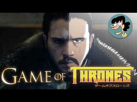 Game of Thrones reimagined as an anime