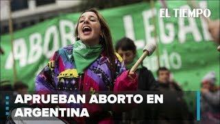 Ley sobre despenalización del aborto pasa primera prueba en Argentina | EL TIEMPO | CEET