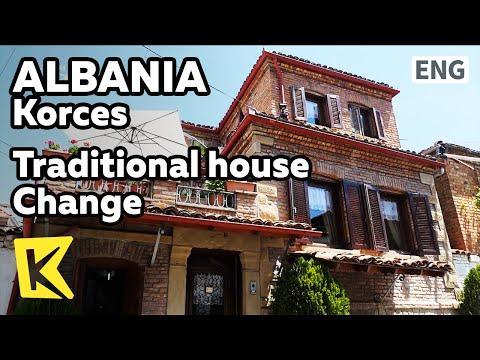 【K】Albania Travel-Korces[알바니아 여행-코르처]코르처 전통가옥의 변신/Traditional house/Accommodation