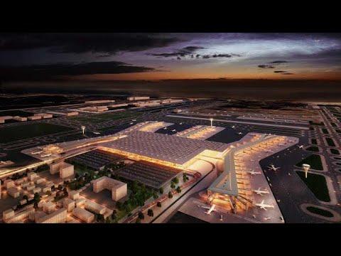Der größte Flughafen der Welt - Englisch