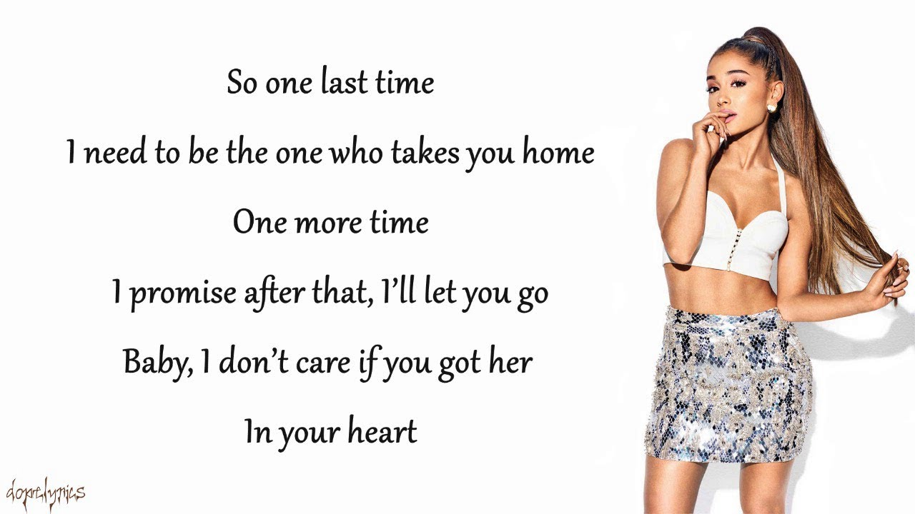 download ariana grande one last time free mp3