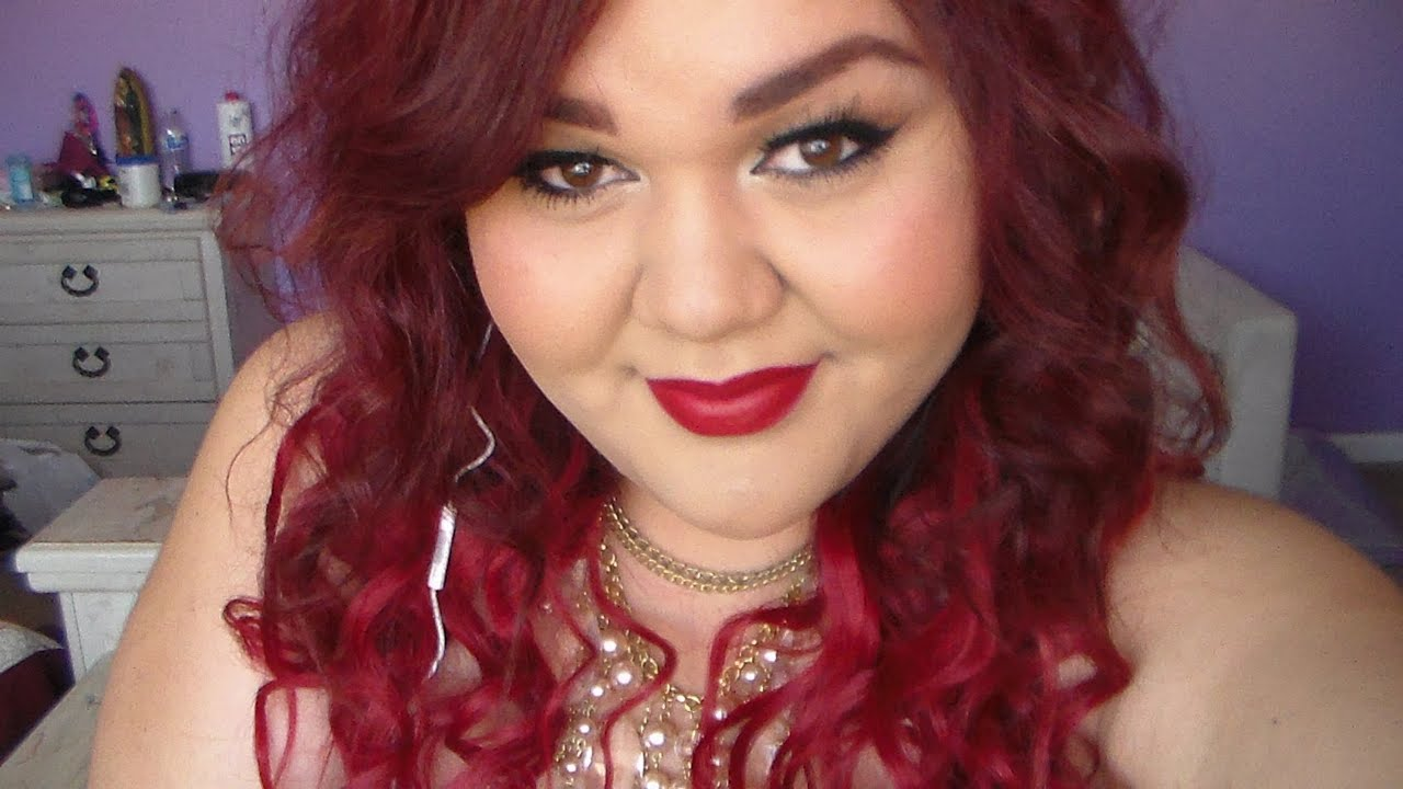 Classy Makeup Tutorial Garnier Red Hair Box Dye Review Youtube