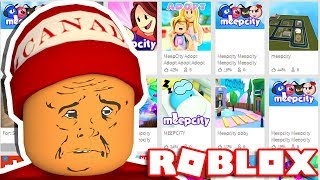 DIE WORST COPIES VON MEEPCITY - DER ROBLOX COPY HUNTER!! 🎮