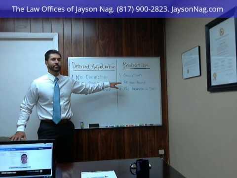 Deferred Adjudication vs. Straight Probation in Fort Worth, Tarrant County, Texas