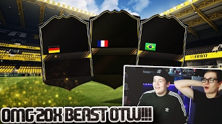 FIFA 17: OMFG 20x ONES TO WATCH PACK OPENING!🔥 (DEUTSCH) - ULTIMATE TEAM - UNGLAUBLICHE SPIELER!