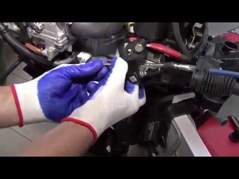 Yamaha 25NMHOS двухтактный лодочный мотор - YouTube