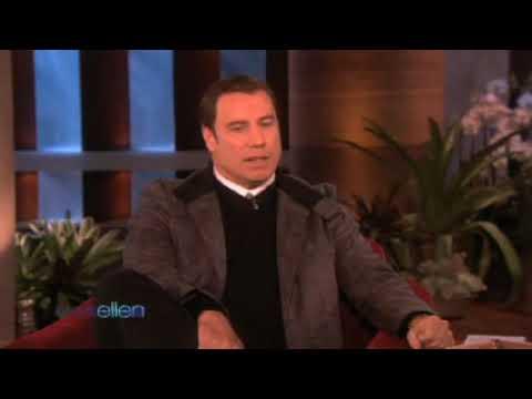 John Travolta  on Ellen