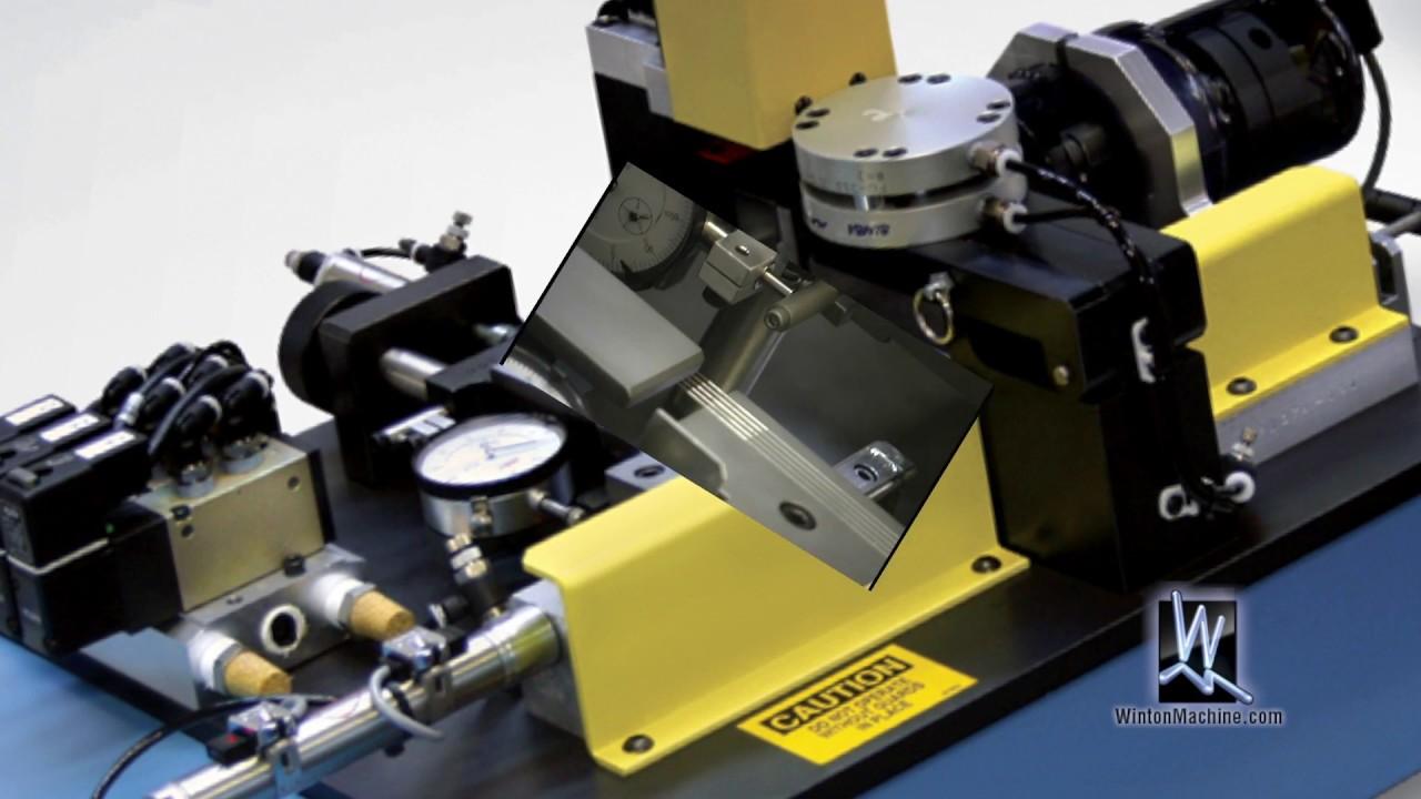 CNC Probe/ Needle Bender-- Winton Machine Company - YouTube
