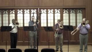 Flor Peeters - Suite: Quatuor pour 4 trombones, Op. 82: Mvt II