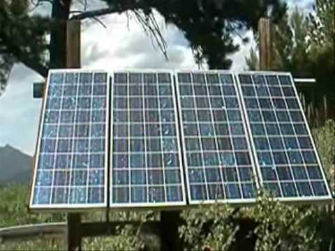 Alternative Solar Energy Mountain Cabin Project Youtube