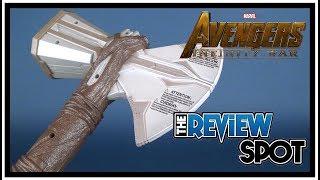 Toy Spot | Hasbro Avengers Infinity War Stormbreaker Electronic Ax