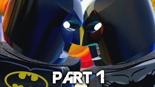 LEGO Dimensions Walkthrough Gameplay Part 1 - Batman (PS4)