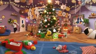 Let's have a LINE FRIENDS Christmas Party! - VR 360 video