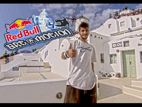 Pedro Leon Gomez - Red Bull Art Of Motion Santorini Greece 2015