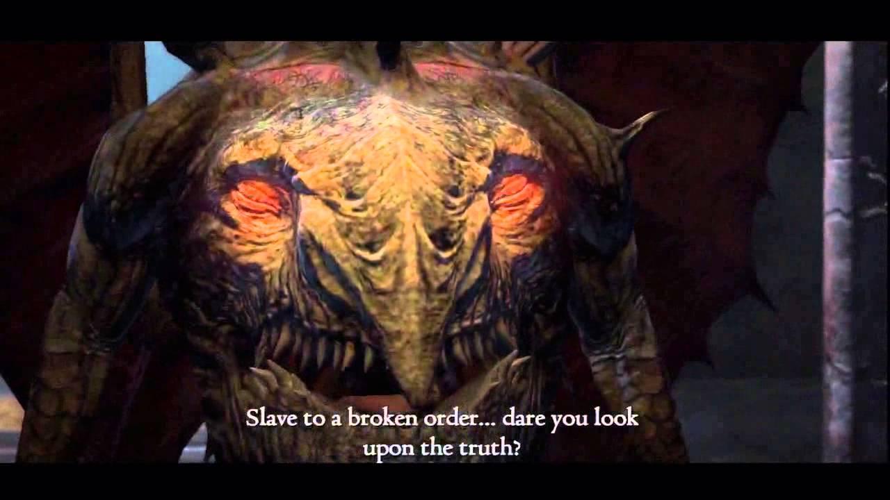 Dragon's Dogma: Dark Arisen (Hard Mode) - Daimon 2nd form first ...