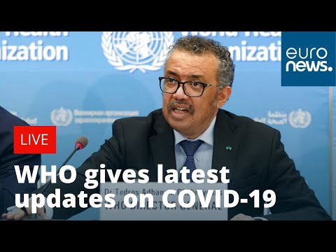 WHO gives daily COVID-19 update | LIVE