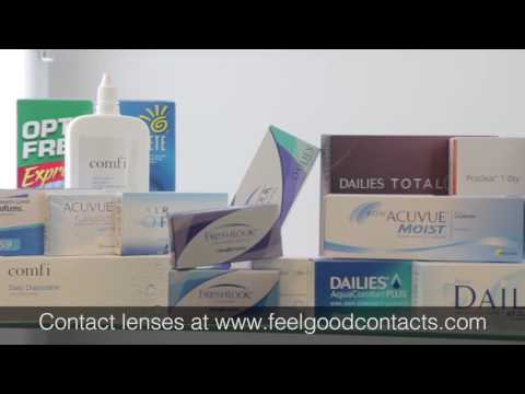 Contact Lenses UK - Feel Good Contact Lenses from YouTube · Duration:  50 seconds
