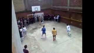 Fútbol en el colegio
