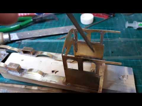 Building an 0 gauge DMR J17 kit for West Green Part 2
