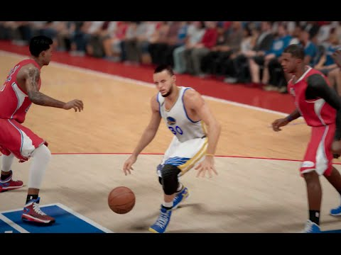 NBA 2K15 (PS4): Clippers vs Warriors (Christmas Day Uniforms) Full Game Sim