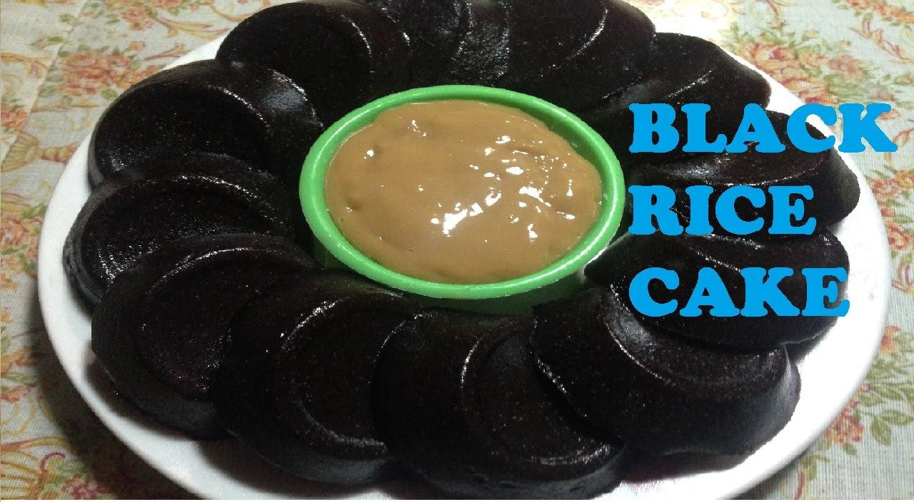 Black Kutsinta Black Rice Cake With Yema Dip Youtube