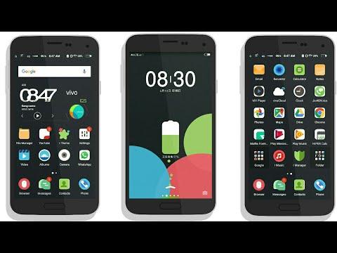MIUI 9 (dark) Theme for Vivo Hi-Fi & Smart by Tech-Nick