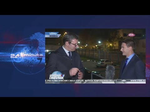 Predsednik Vučić u Rusiji...