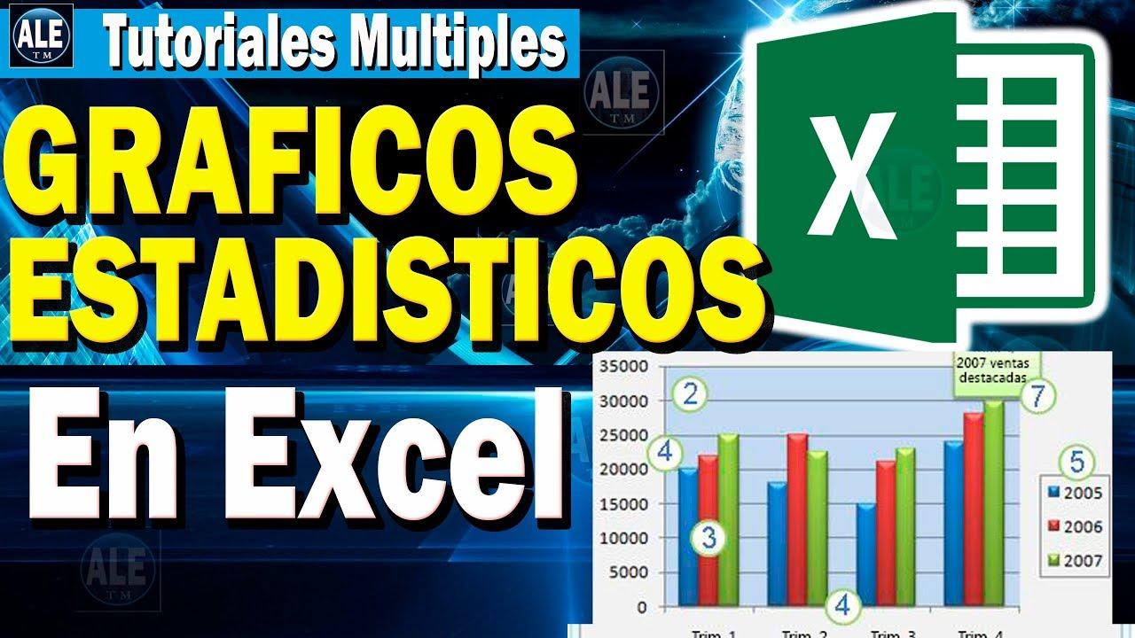 Como Hacer Graficos Estadisticos En Excel Y Sus Estilos Curso De Excel Cap 3