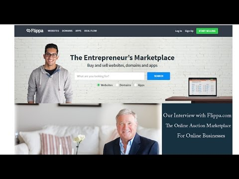 Boomers & Seniors Buying An Online Business Through Flippa.com
