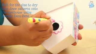 How To Make A Decopatch Birdhouse