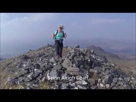 Beinn Airigh Charr, Meall Mheinnidh &  Beinn Lair  From Poolewe 19Apr19