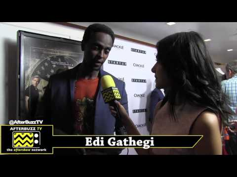 Edi Gathegi Interview | Crackle's Start Up Premiere