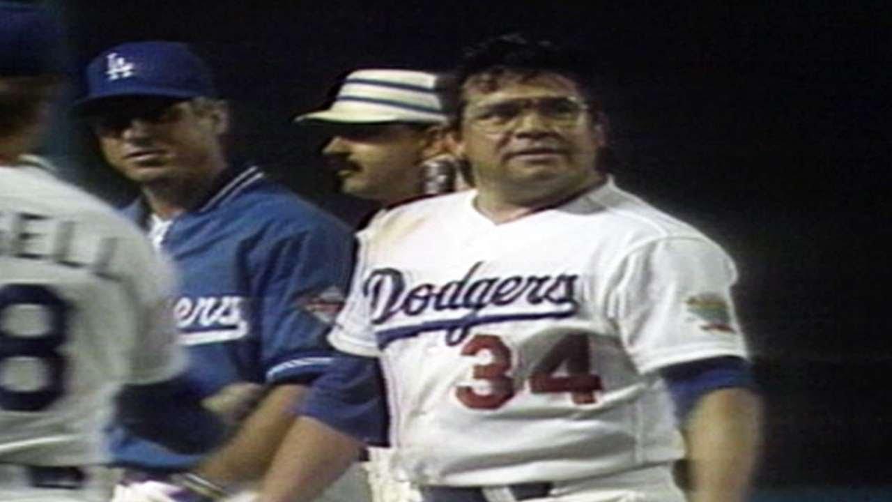 Valenzuela finishes his no-hitter - YouTube