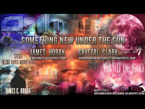 SOMETHING NEW UNDER THE SUN | James Horak & Crystal Clark | May 2017