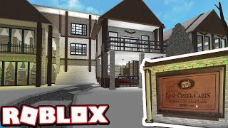 LOST CREEK CABIN - $1,500,000 WINTER MANSION!!! | Subscriber Tours (Roblox Bloxburg)