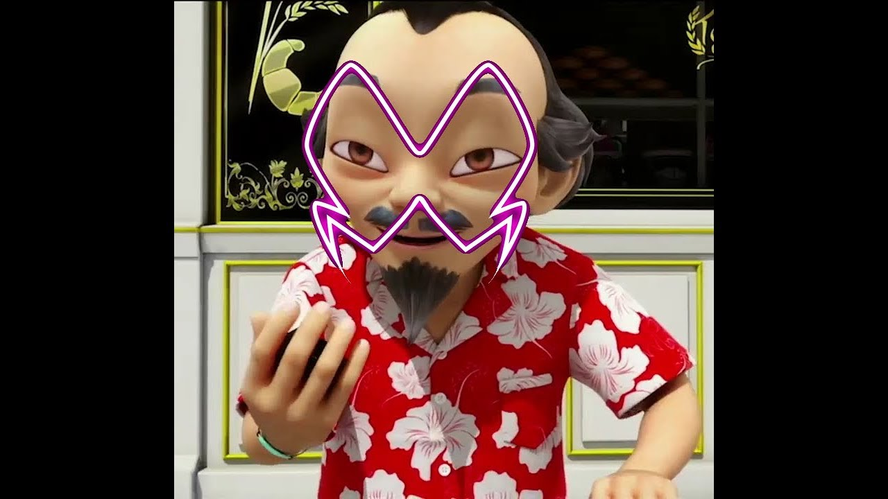 Coloriage Miraculous Kwami Paon.Miraculous Ladybug Saison 2 Spoilers Inedits Maitre Fu Akumatised