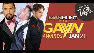 MANHUNT at GayVN Awards 2018
