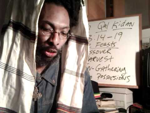 RAS TAFARI ROSH HA-SHANAH pt1: Black Jews & the Hebrew Lunar New Year 5772 - Wendim Yadon