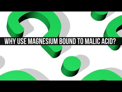 Why Use Magnesium Bound To Malic Acid?