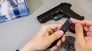 пневматический пистолет Umarex Beretta Px4 Storm ( Видео - Обзор )