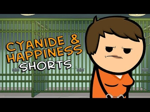 Free To Go - Cyanide & Happiness Shorts