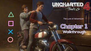 Uncharted 4: A Thief's End - Chapter 1 The Lure of Adventure