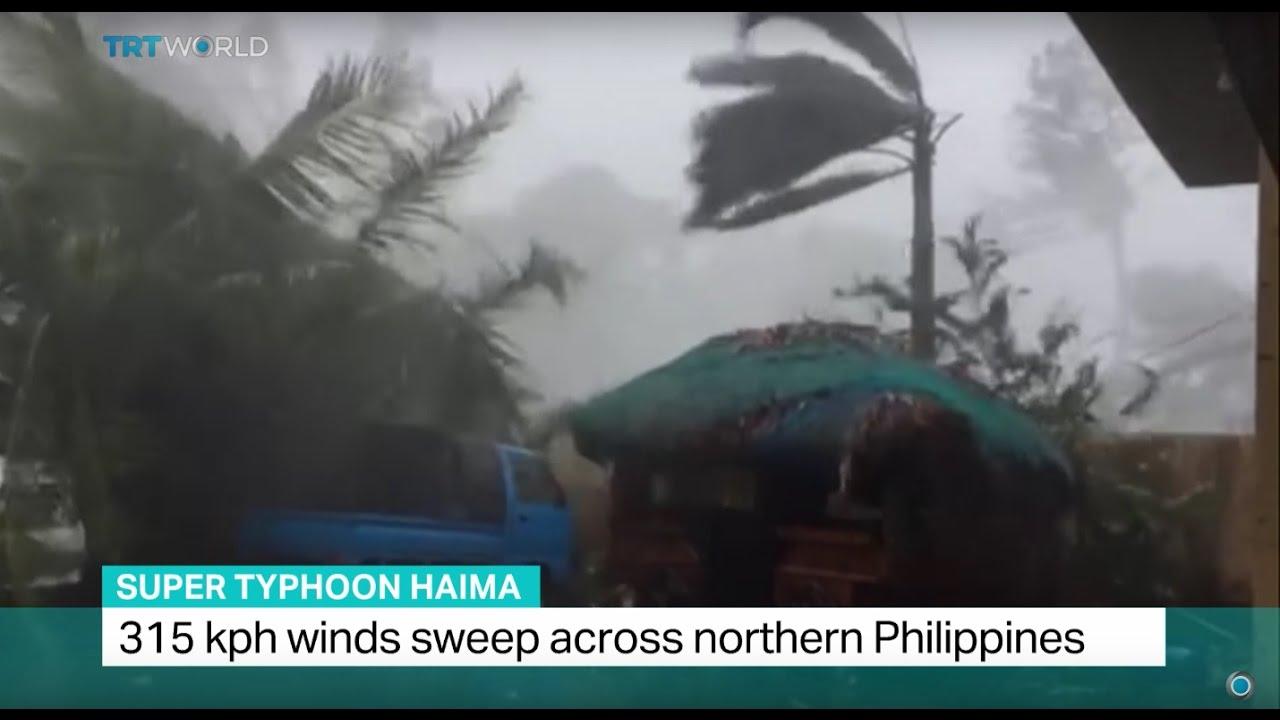 Super Typhoon Haima: 315 kph winds sweep across northern Philippines