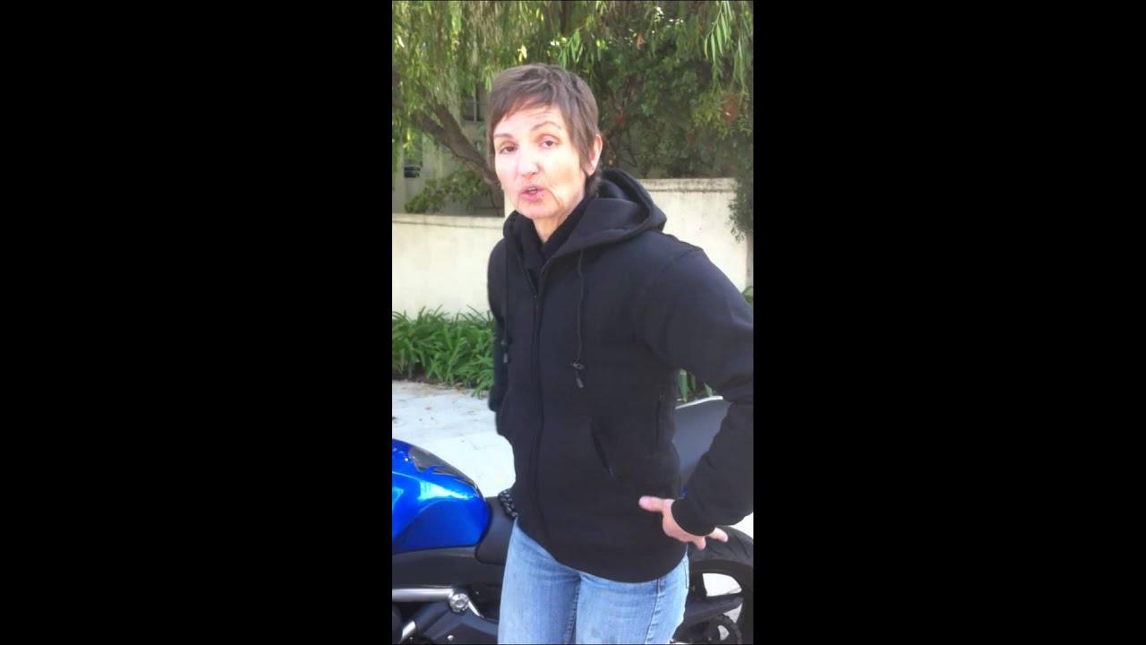 Go Go Gear : Gogo gear armored kevlar hoodie demonstration