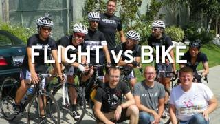 Can A Bike Beat A Jet In A Race? - JetBlue vs. The Wolfpack Hustle 7/16/11 #FlightvsBike