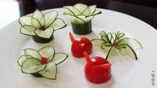 【一颗舒菜】超级简单!饭店里的摆盘在家也可以做 秒变大菜 招待朋友特有面